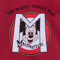 Image of Mickey Mouse Club Mouseketeers Logo T-Shirt for Adults # 2