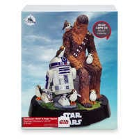 Image of Chewbacca, R2-D2 & Porgs Limited Edition Figurine - Star Wars: The Last Jedi # 10