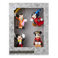 Image of Mickey Mouse Through the Years Mini Ornament Set 2 # 3