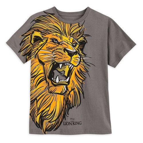 Simba T-Shirt for Boys - The Lion King 2019 Film