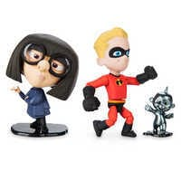 Image of Dash, Edna, and Jack-Jack Action Figure Set - PIXAR Toybox # 1