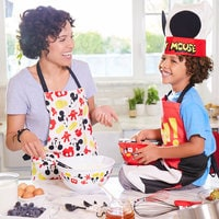 Image of Mickey Mouse Apron and Oven Mitt Set for Adults - Disney Eats # 6