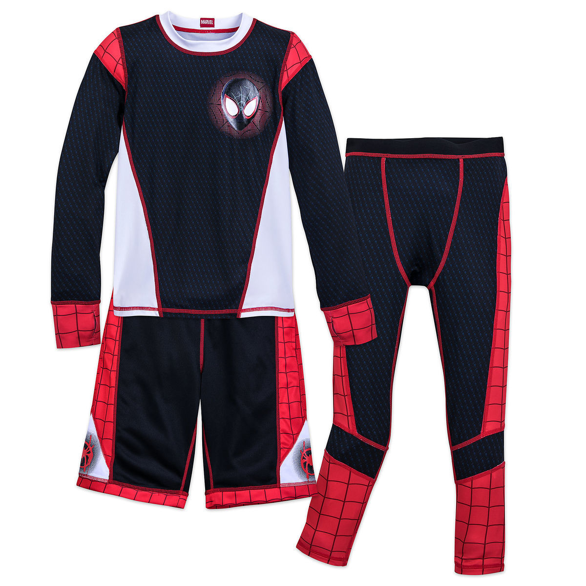Spider Man Miles Morales Athletic Fashion Collection For Boys