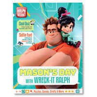 Image of Your Day with Wreck-It Ralph Activity Book - Personalizable # 1