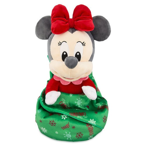 Minnie Mouse My First Christmas Plush With Blanket