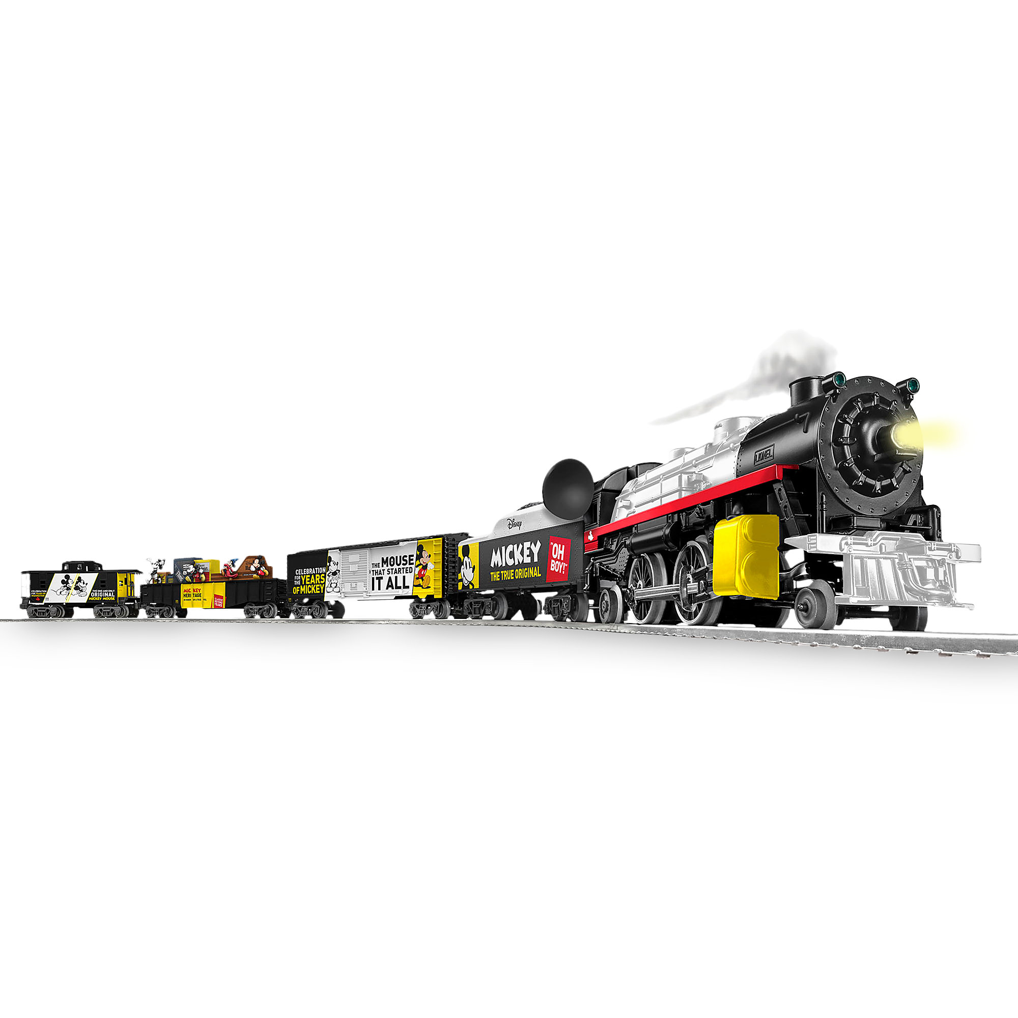 Mickey Mouse 90th Anniversary Ready-to-Run Train Set by Lionel - Limited Edition - Pre-Order
