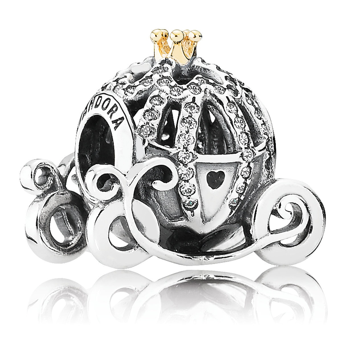 5e9df0a6b Product Image of Cinderella Pumpkin Coach Charm by Pandora Jewelry # 1
