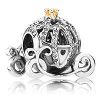 Image of Cinderella Pumpkin Coach Charm by Pandora Jewelry # 1