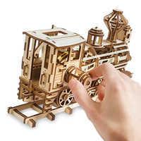 Image of Walter E. Disney Train Wooden Puzzle # 3