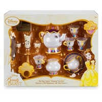 Image of Beauty and the Beast ''Be Our Guest'' Singing Tea Cart Play Set # 6