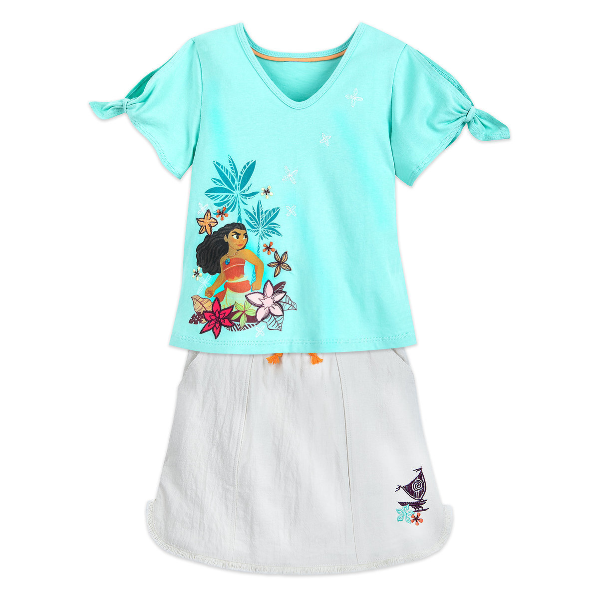c0bfb437e Product Image of Moana T-Shirt and Shorts Set for Girls # 1