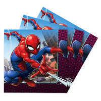 Image of Spider-Man Webbed Wonder Lunch Napkins # 1