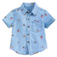 Image of The Lion King Chambray Shirt for Baby # 1