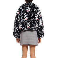 Image of Mickey Mouse Faux Fur Jacket for Women by Opening Ceremony # 4