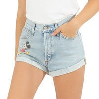 Image of Mickey Mouse Denim Shorts by SIWY # 2