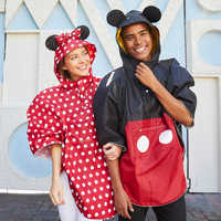 Image of Mickey Mouse Rain Poncho for Adults # 2