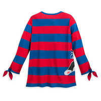Image of Figaro and Cleo Long Sleeve Shirt for Women - Pinocchio # 3