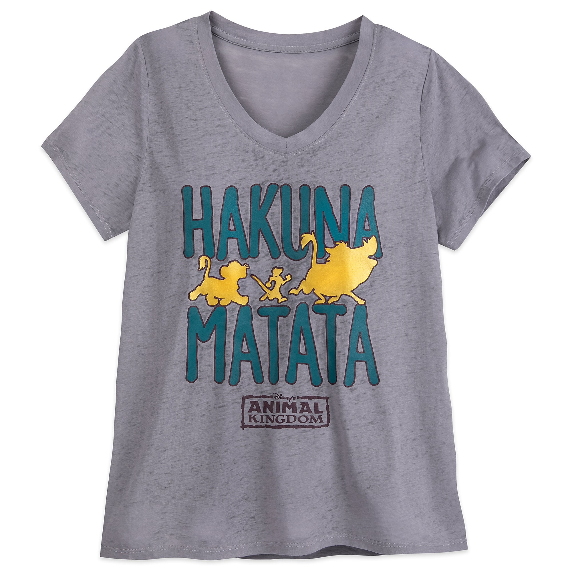 7c7332dbc295 The Lion King ''Hakuna Matata'' T-Shirt for Women - Disney's Animal Kingdom  | shopDisney