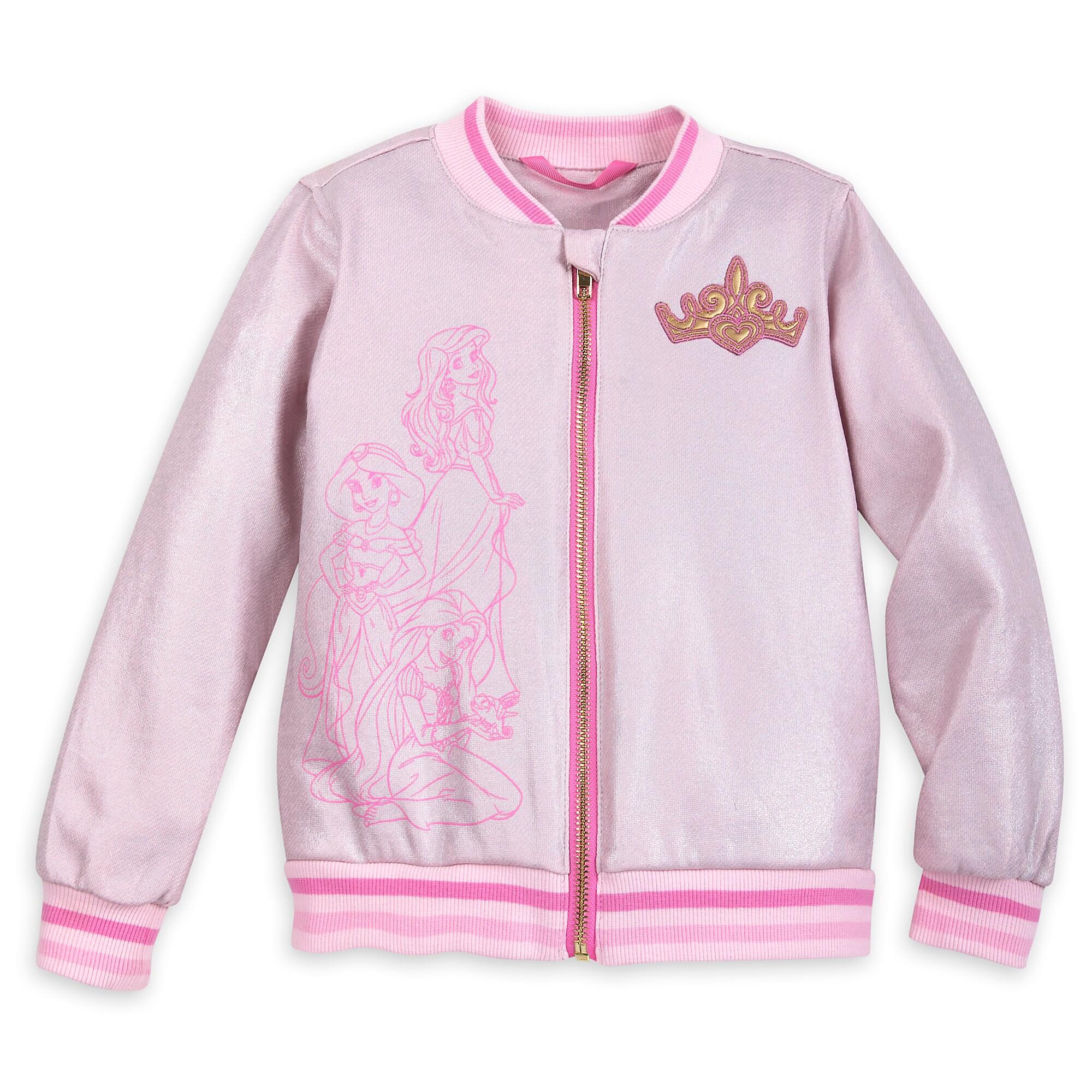 Disney Princess Shimmering Bomber Jacket for Girls