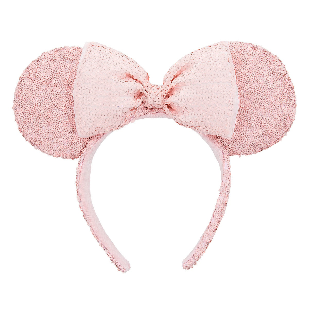 Pink Sequin Minnie Mouse Ears