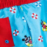 Image of Mickey Mouse and Donald Duck Swim Trunks for Boys # 4