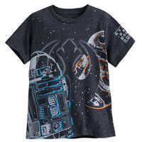 Image of R2-D2 and BB-8 T-shirt for Boys - Star Wars: The Last Jedi # 1