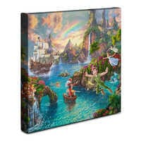 Image of ''Peter Pan's Never Land'' Gallery Wrapped Canvas by Thomas Kinkade Studios # 2