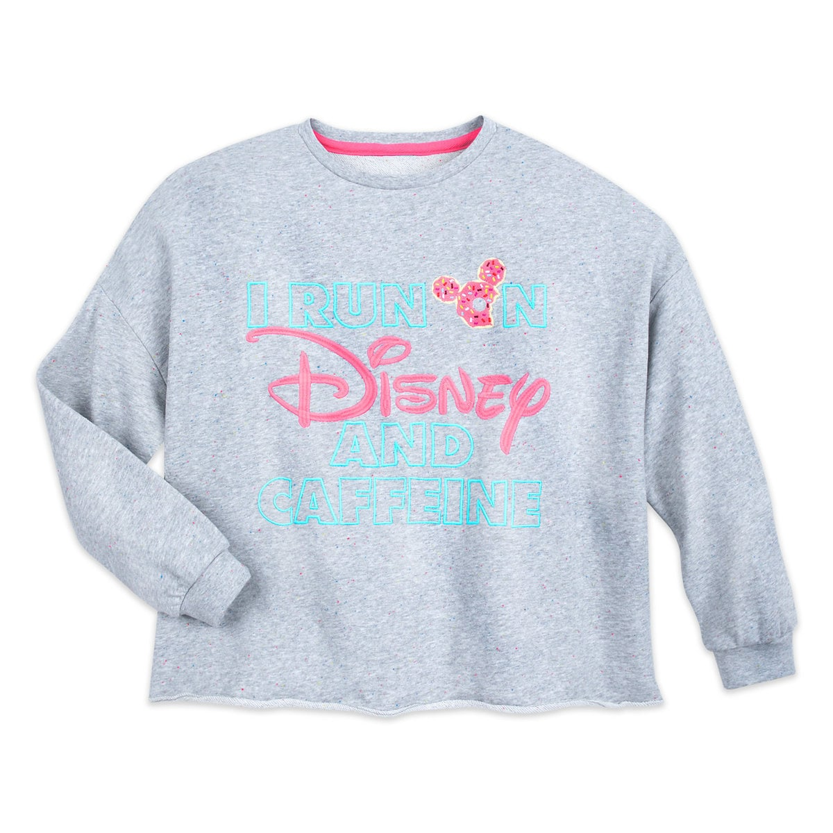 2563abfe9e2 Product Image of Mickey Mouse   Disney and Caffeine Pullover   Sweatshirt  for Women