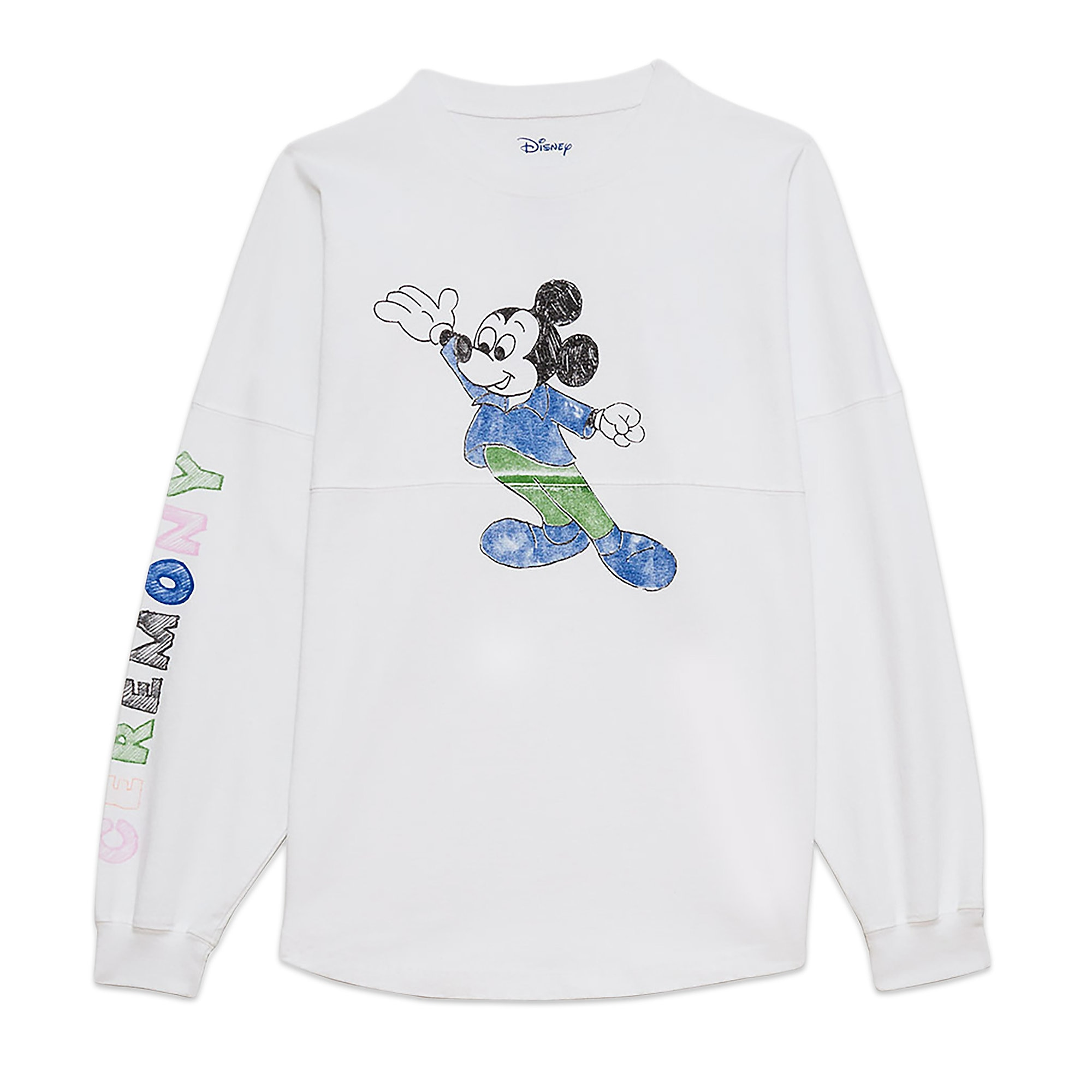 Mickey Mouse Long-Sleeve T-Shirt for Adults by Opening Ceremony