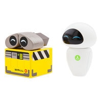 Image of WALL•E and EVE Wooden Collectibles - Limited Edition # 2