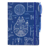 Image of Star Wars Blueprint Journal with Pen # 1