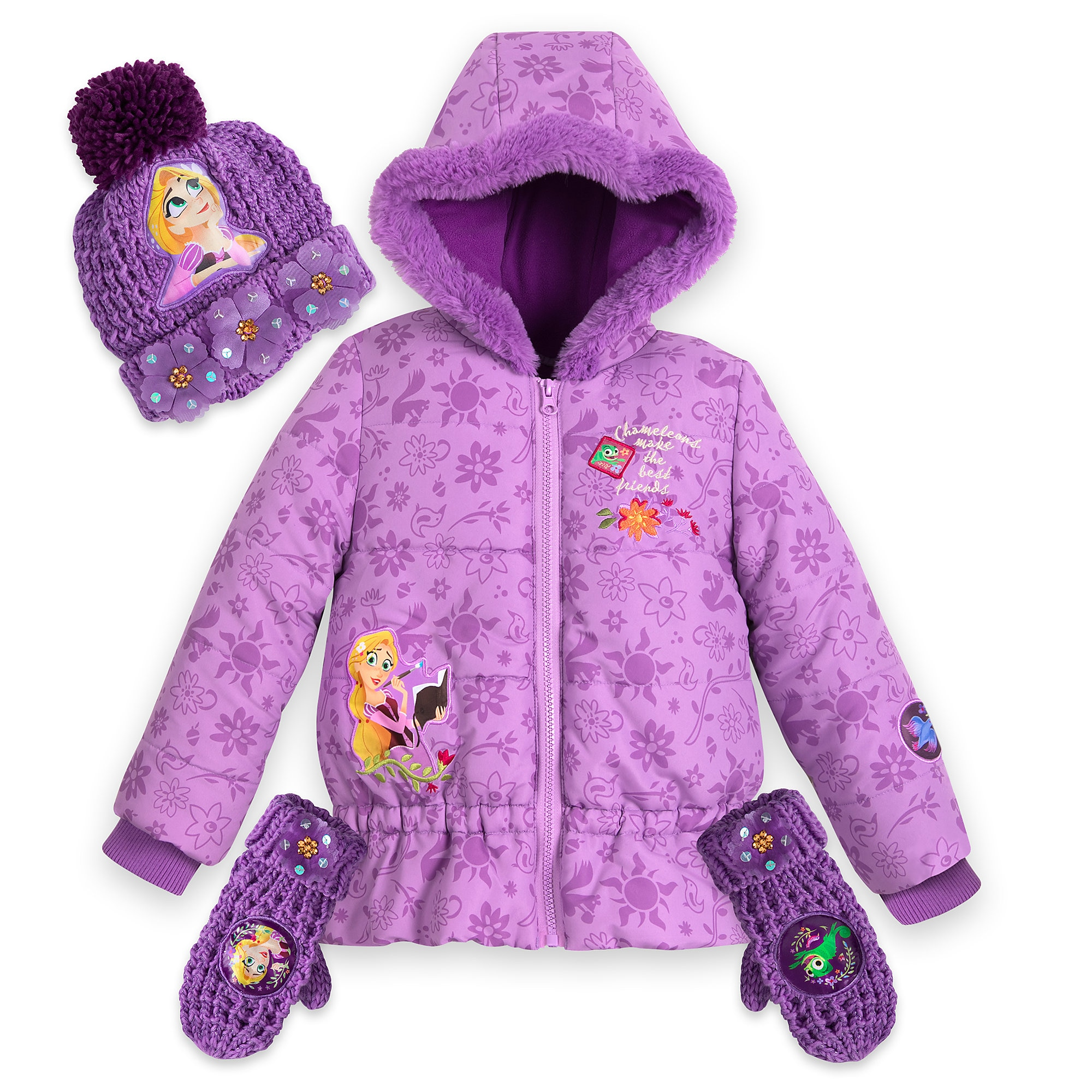 Rapunzel Warmwear Collection for Girls