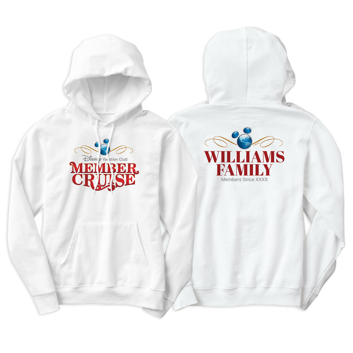 dfb1a1d98 Product Image of Disney Vacation Club Member Cruise Two-Sided Pullover  Hoodie for Men -
