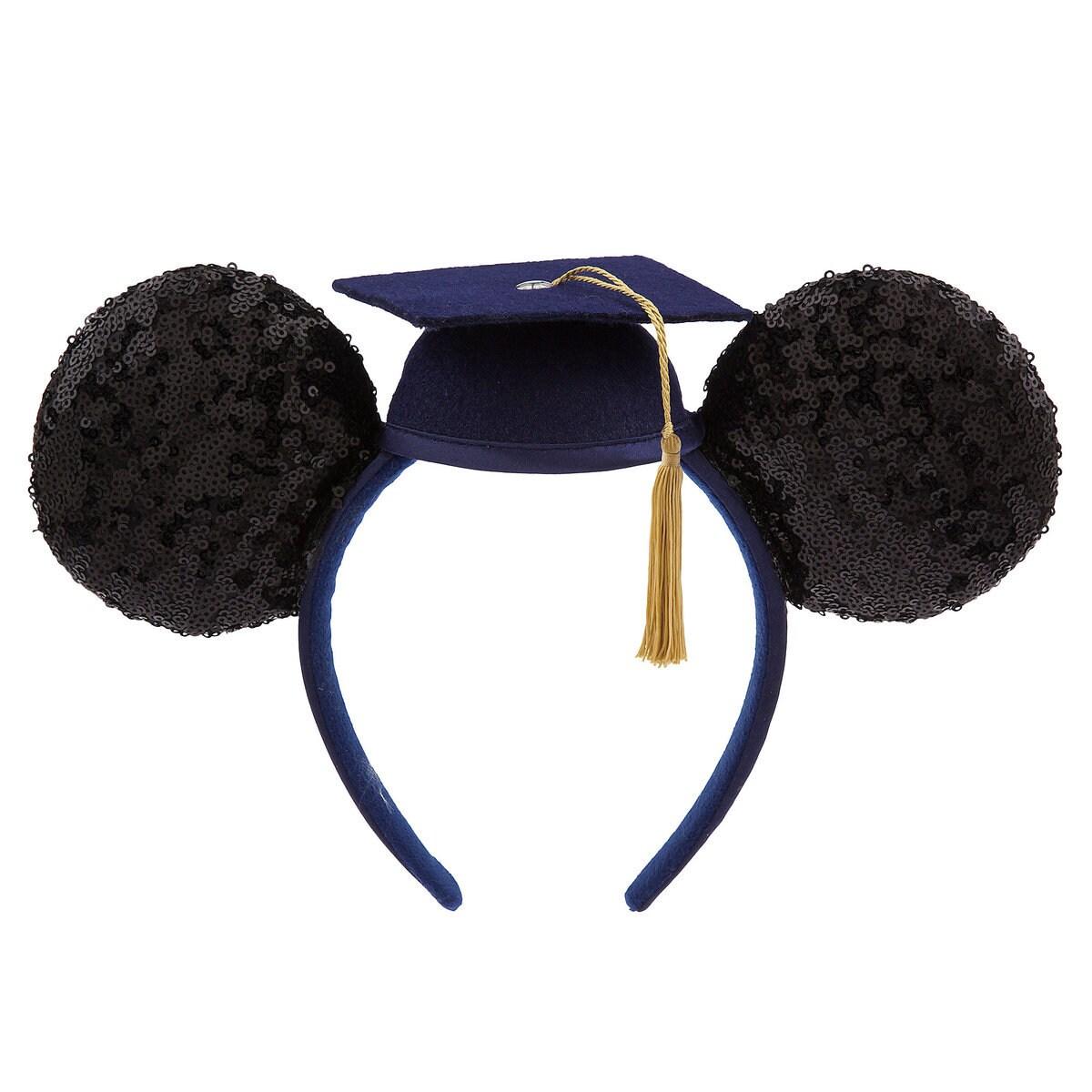 sale retailer 31777 62b6e Product Image of Mickey Mouse Graduation Cap Ear Headband - Class of 2019    1