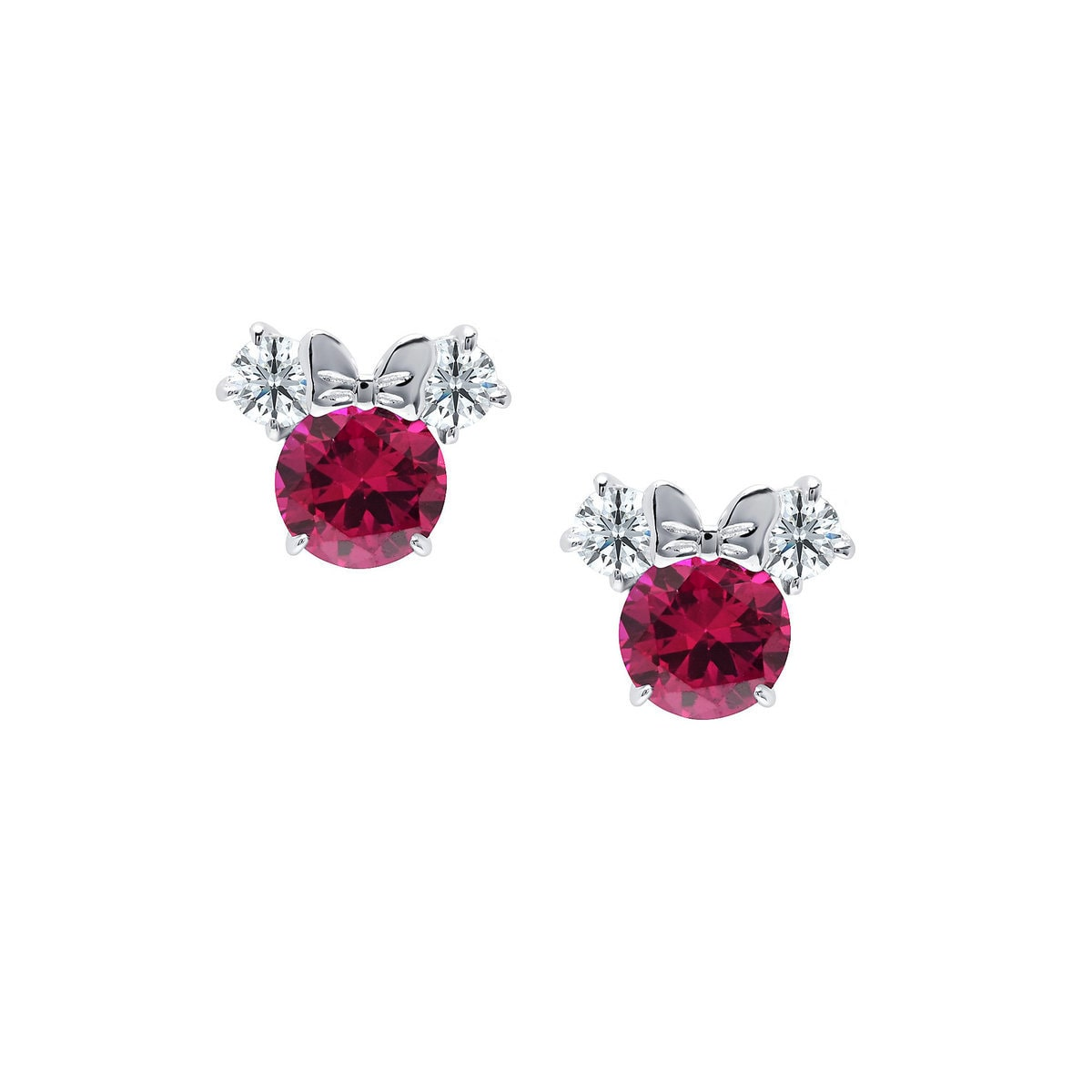 a46d4e26e Product Image of Minnie Mouse Birthstone Earrings by CRISLU # 1