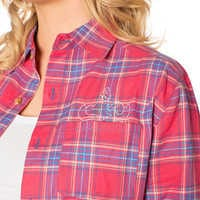 Image of Sebastian Flannel Shirt for Adults by Cakeworthy - The Little Mermaid # 3
