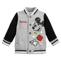 Image of Mickey Mouse Bomber Jacket for Baby - Personalized # 1