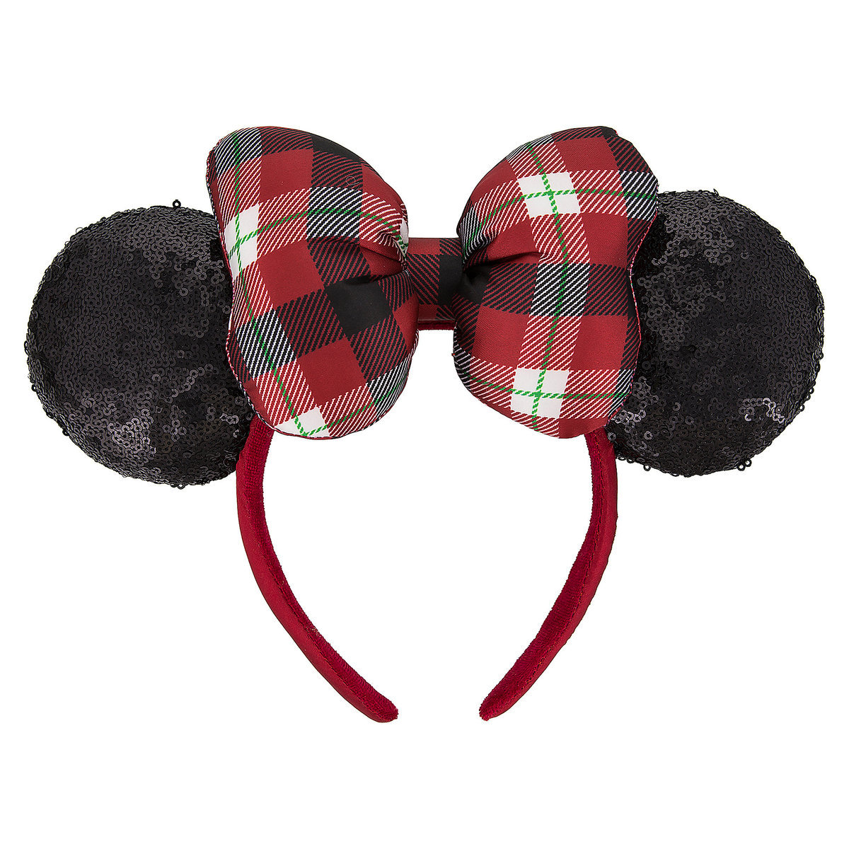 b4347b18cea Product Image of Minnie Mouse Holiday Ears Headband for Adults   1