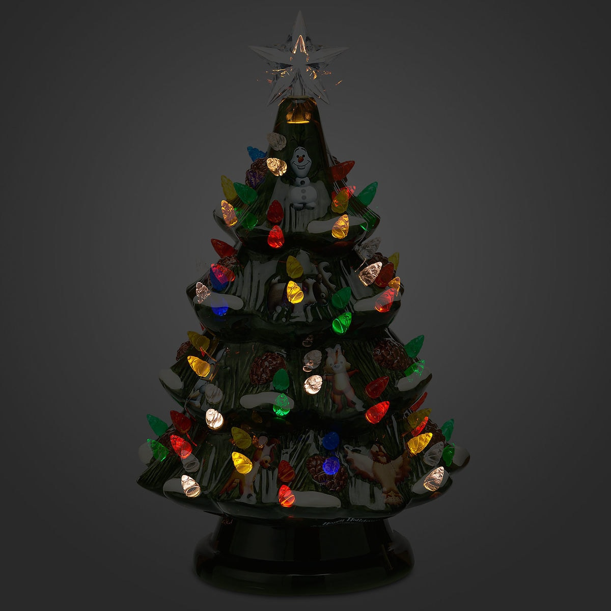 product image of disney retro ceramic light up tree 3
