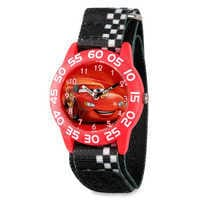 Image of Lightning McQueen Time Teacher Watch - Kids # 1