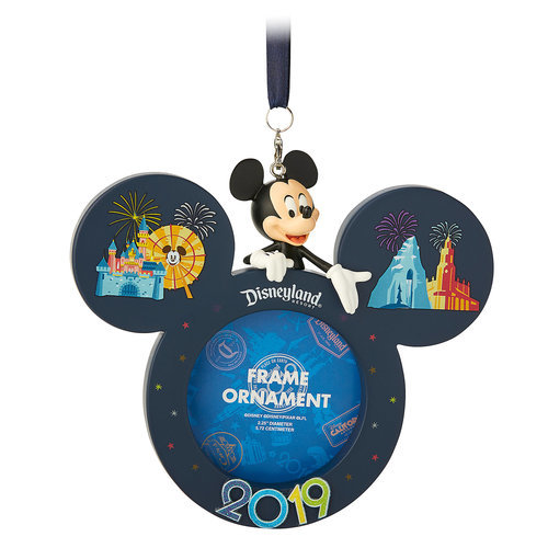 Mickey Mouse Frame Ornament - Disneyland 2019