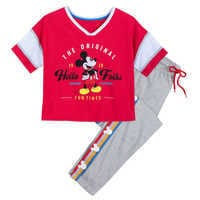 Image of Mickey Mouse Pajama Set for Women # 1