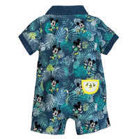 Image of Mickey Mouse Tropical Romper for Baby # 2