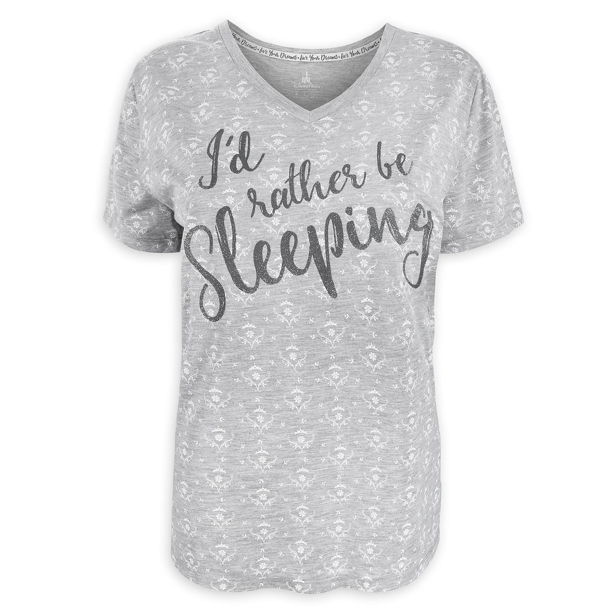 Product Image of Aurora Text T-Shirt for Women - Sleeping Beauty   1 f1b18497e4