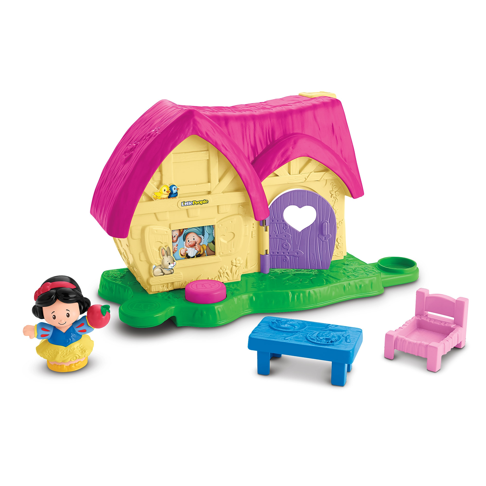 Snow White Cottage Little People Playset