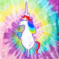 Image of Rainbow Unicorn Tee for Women - PIXAR Inside Out # 3