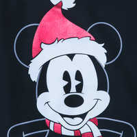 Image of Mickey Mouse Holiday Top for Women # 3
