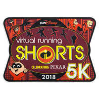 Image of Incredibles 2 runDisney Virtual Running Shorts 5K 2018 Magnet - Limited Release # 1