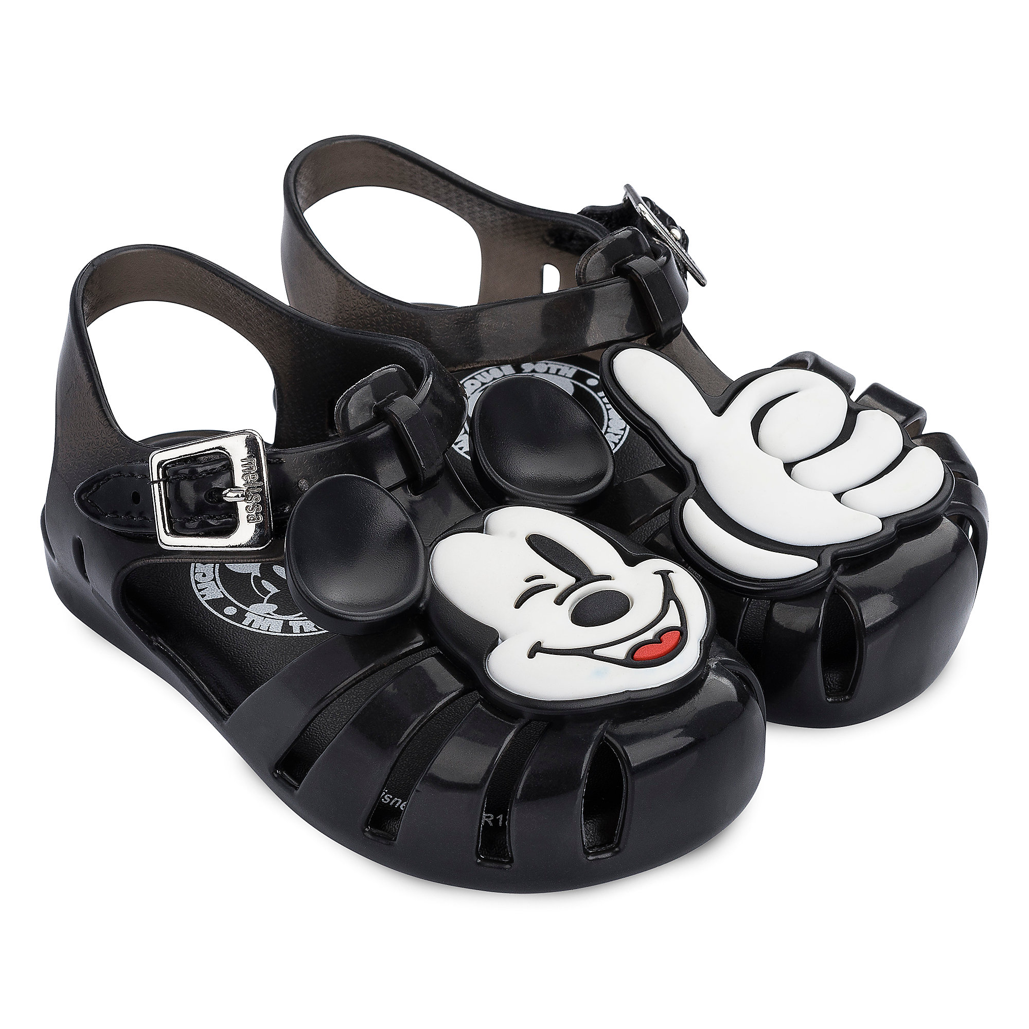 bfa4bdab1638e Mickey Mouse Sandals for Kids by Melissa