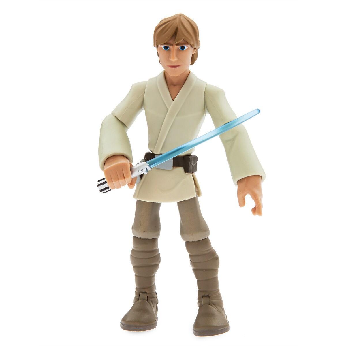 luke skywalker action figure star wars toybox shopdisney